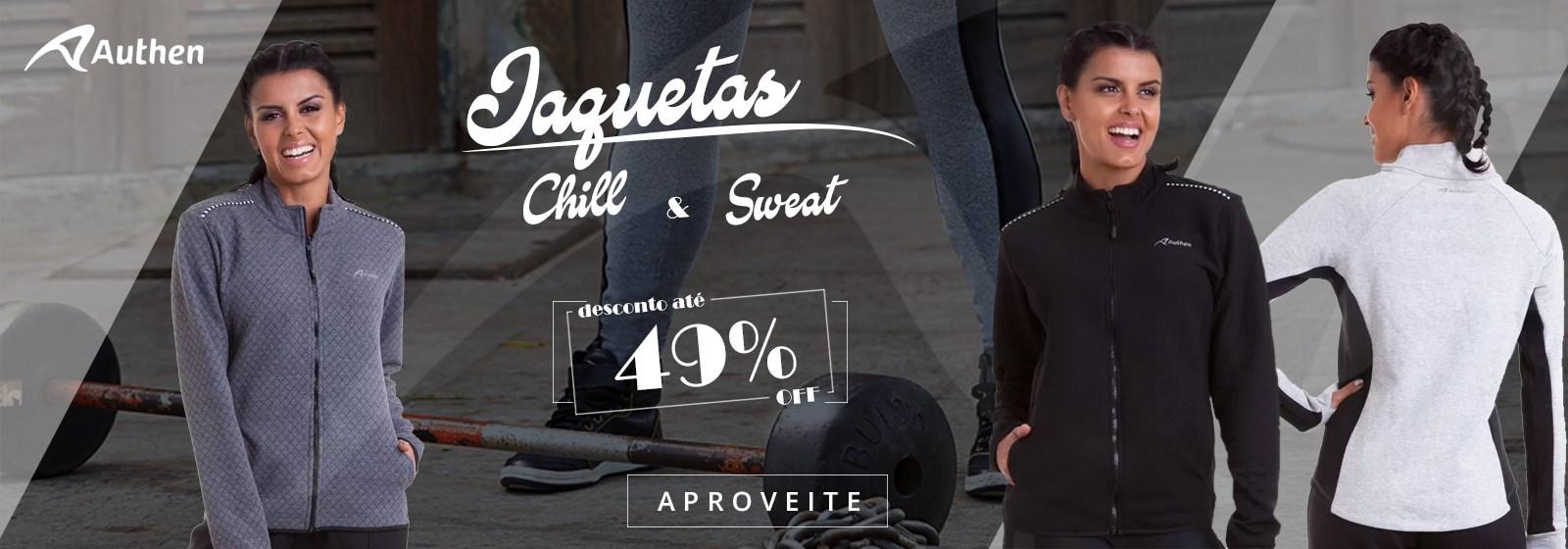 Jaquetas Authen Até 49% de Desconto