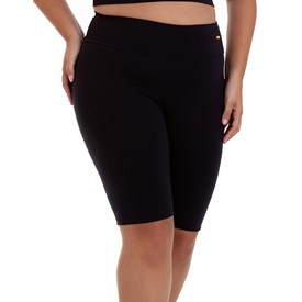 BERMUDA PLUS SIZE SUPLEX PRETO BEST FIT