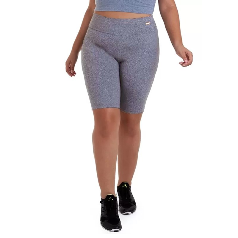 BERMUDA PLUS SIZE SUPPLEX MESCLA BEST FIT