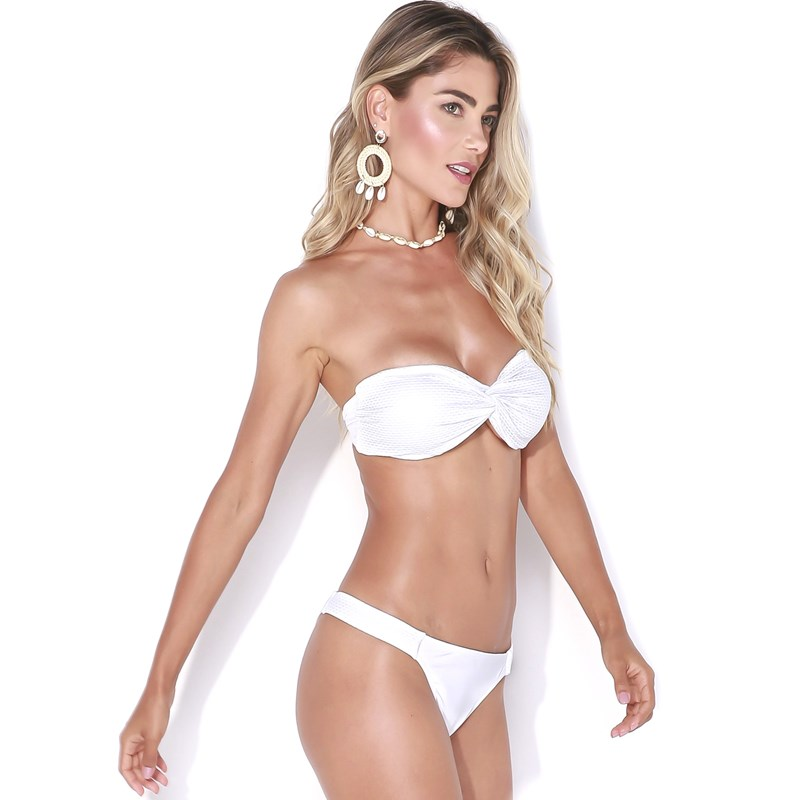 Biquíni Feminino Manly Branco