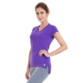 BLUSA DRY MULLET ROXA BEST FIT