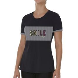Moda feminina blusa estampada size plus ethernity verão - Multiplace 55042cdb0029a