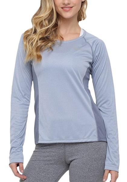 Camiseta Feminina Dry Miler Nike Cinza - Compre Agora  355af94c11b30