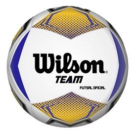 BOLA FUTSAL WILSON TEAM N5 BRANCO
