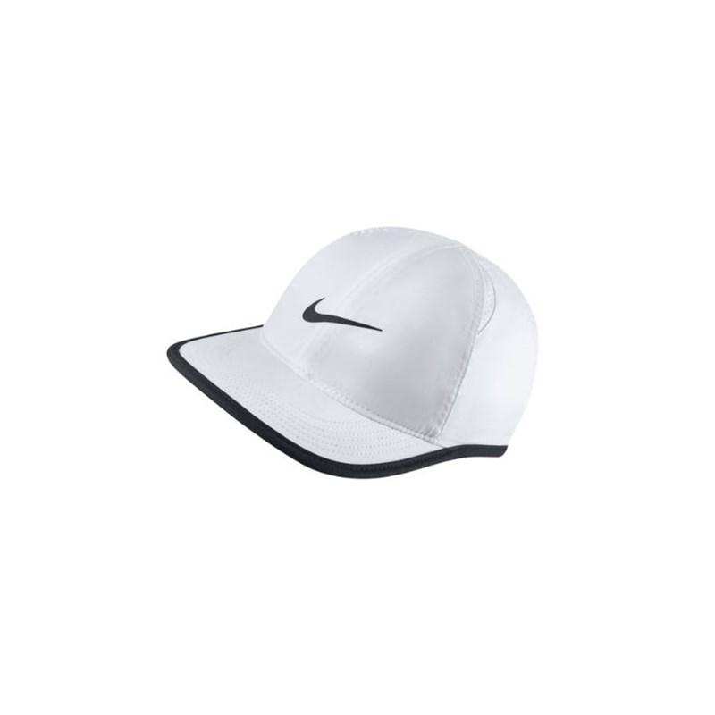Boné Infantil Nike Featherlight Branco