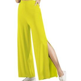 Calça Feminina Atlantic Manly Amarelo