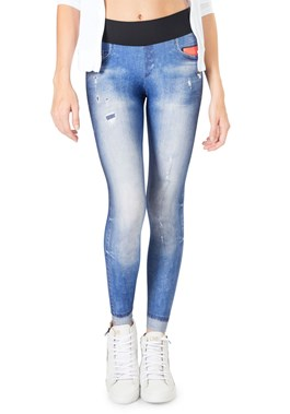 CALÇA LEGGING ATHLETIC JEANS LIVE