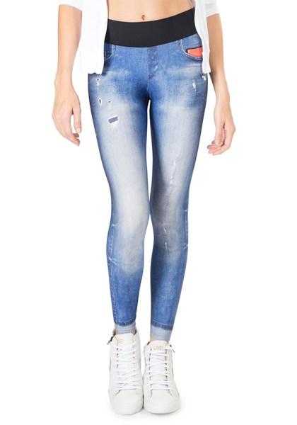 Calça Legging Live Em Athletic Jeans - Compre Agora  ae8ee1754ffc0