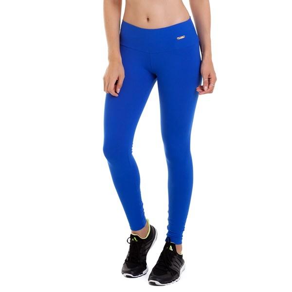 Calça Legging Best Fit Suplex Azul Bic