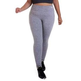 Calça Legging Best Fit Suplex Plus Size Mescla