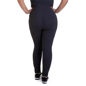 Produto Calça Legging Best Fit Suplex Plus Size Mescla Escuro