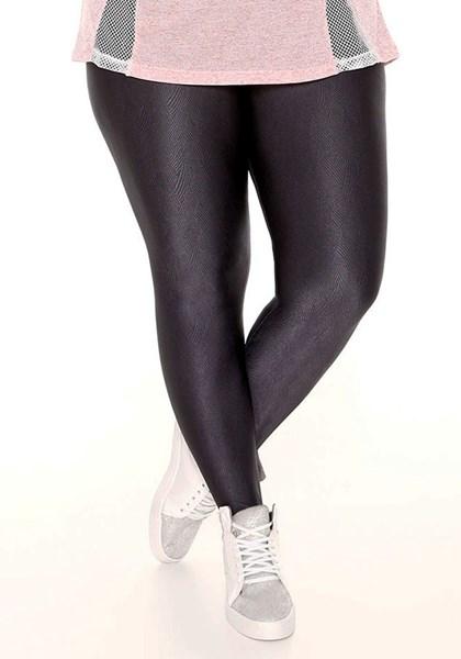 88ad11199 Calça Legging Chumbo Plus Size Trinys - Compre Agora | Best Fit