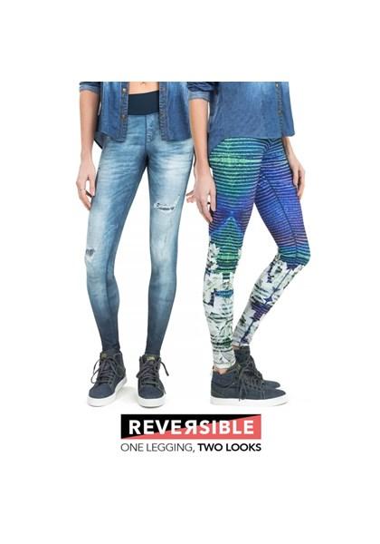 Calça Legging Fusô Reversible Live - Compre Agora  9c07cdf15fac3