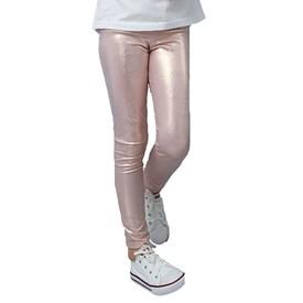 Calça Legging Infantil LeFruFru Piton Rose Gold