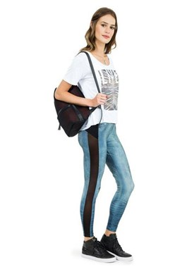 CALCA LEGGING JEANS MIX AND MATCH FRAYED JEANS LIVE
