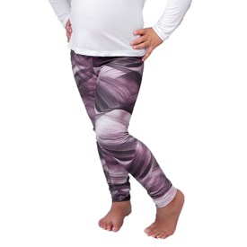Calça Legging LeFruFru Infantil Lavanda com Bolso
