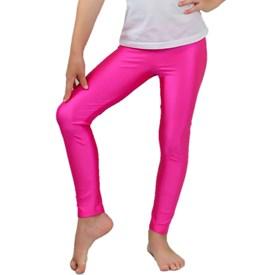 Calça Legging LeFruFru Pink Cirrê Infantil