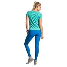 Calça Legging Live Fusô Azul Bic