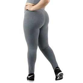 Calça Legging Movimento e Companhia Suplex Plus Size Mescla