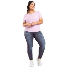 Calça Legging Plus Size Live Fuso Reversible