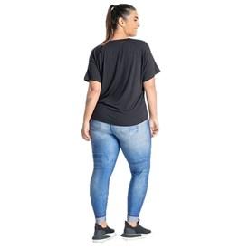 Calça Legging Plus Size Live Jeans Azul