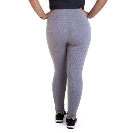 CALÇA LEGGING SUPLEX PLUS SIZE MESCLA BEST FIT