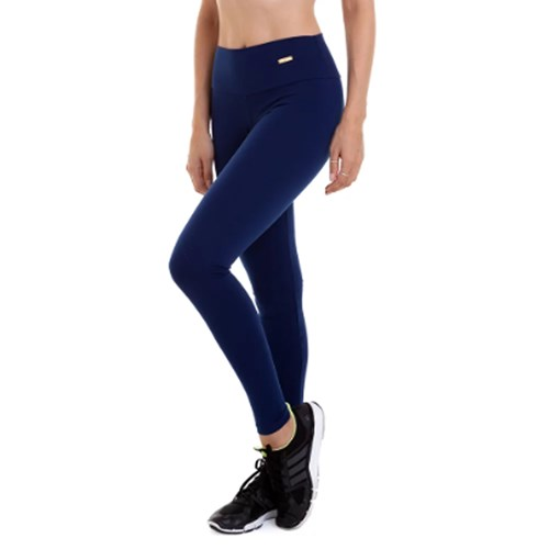 CALÇA LEGGING SUPPLEX AZUL MARINHO BEST FIT