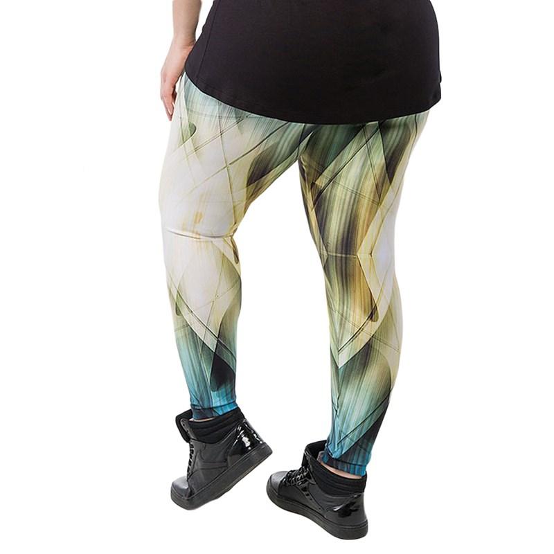 Calça Legging Trinys Candace Plus Size Estampada