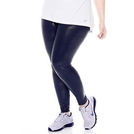 Calça Legging Trinys Plus Size Azul