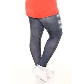 Calça Legging Trinys Plus Size Jeans