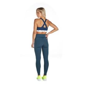 Calça Legging Vestem Fuso Glow Azul Marinho