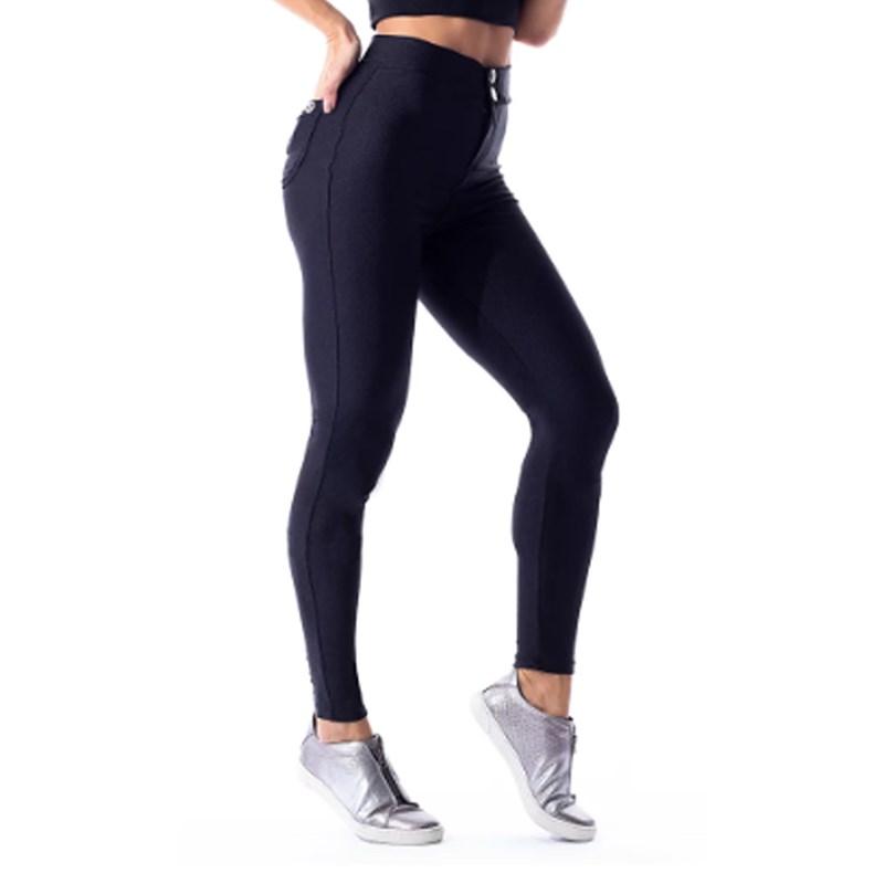Calça Legging Vestem Fusô Hot Pant Preto