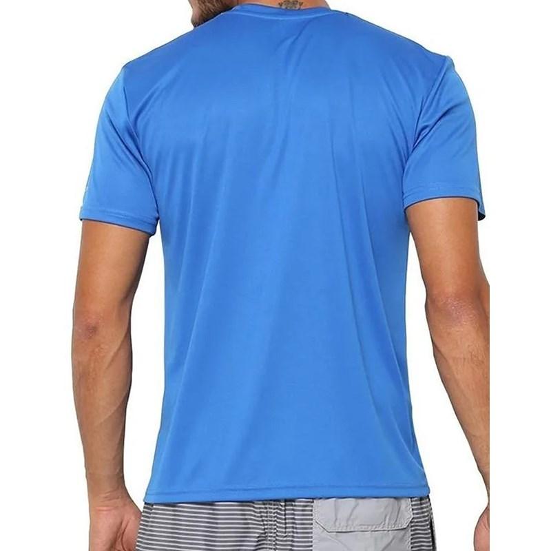 Camiseta Adulta Speedo Interlock Azul