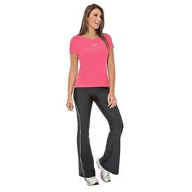 Camiseta Adulto Speedo Basic Strech Rosa