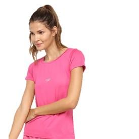 Camiseta Adulto Speedo Jacquard Club Rosa
