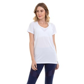 Camiseta Best Fit Dry Fitness Branco