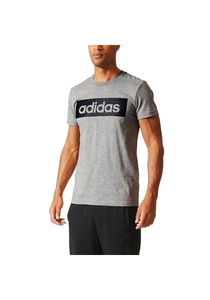 b9dbb5ce7d8dc Camiseta Casual Stripes Adidas Mescla - Compre Agora