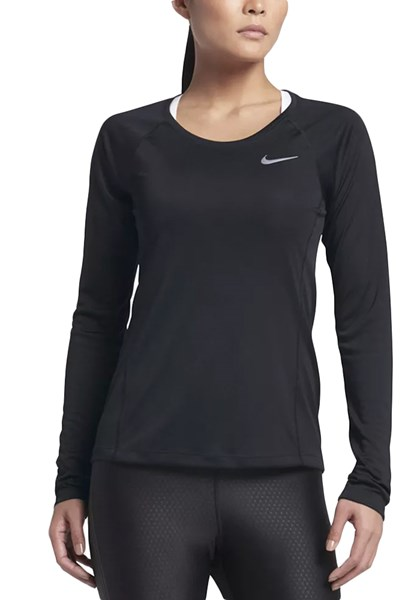 Camiseta Feminina Dry Miler Nike Preta - Compre Agora  c28e8e257a00c