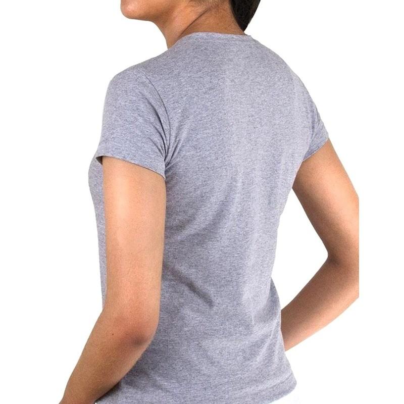 Camiseta Feminina Tennis Fan Wilson Mescla Cinza