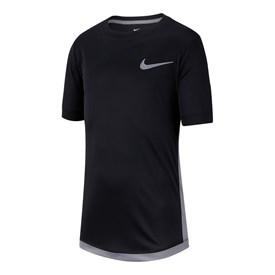 Camiseta Infantil Nike Manga Curta Dri Trophy Preta