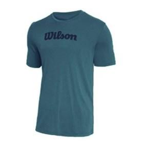 Camiseta Infantil Wilson Match Verde
