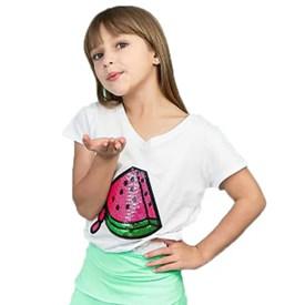 Camiseta LeFruFru Infantil Melancia