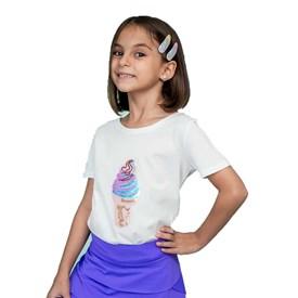 Camiseta LeFruFru Infantil Sorvete