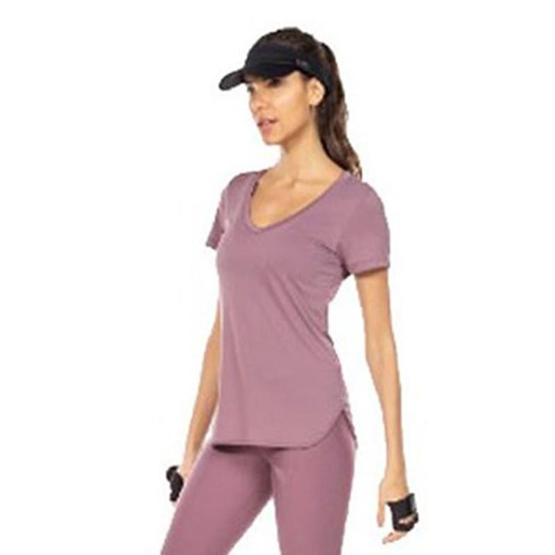 Camiseta Live Carry On Roxa
