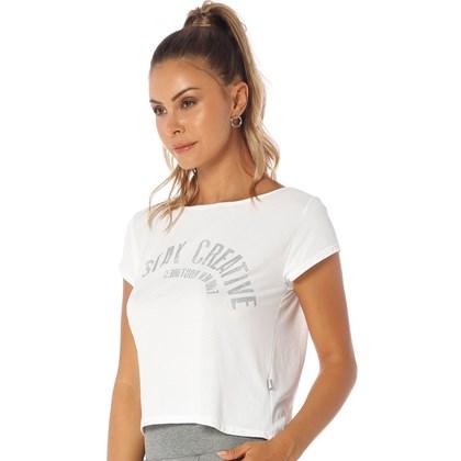 Camiseta Manga Curta Manly Branco