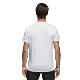 CAMISETA MANGA CURTA RUN BRANCO ADIDAS