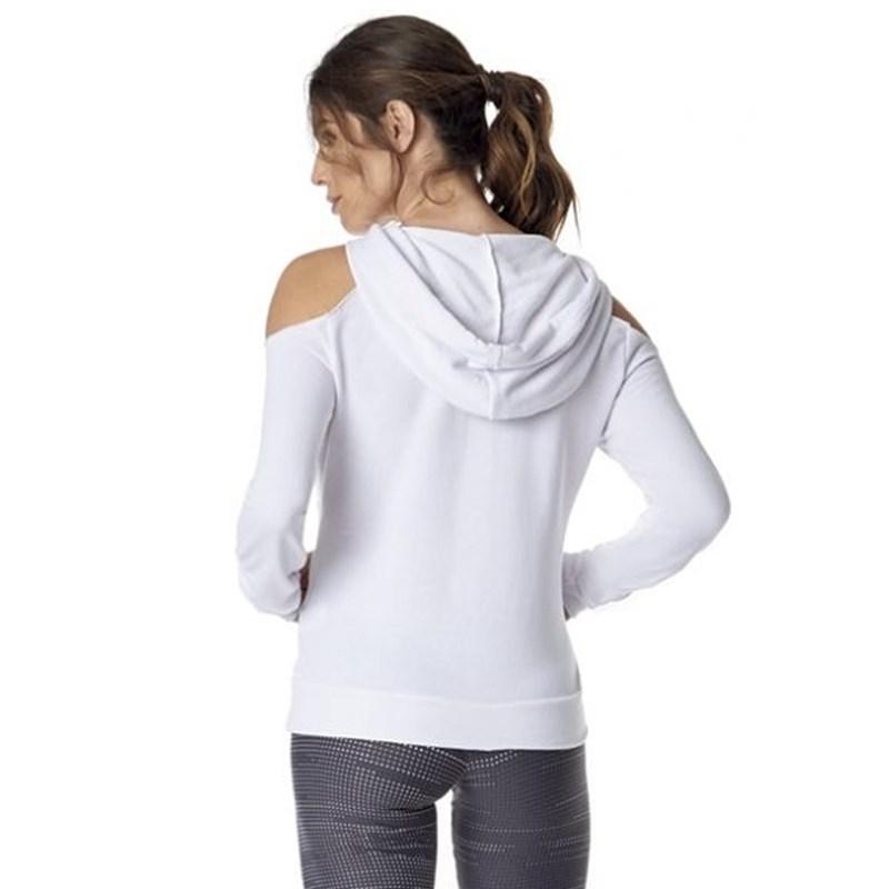Camiseta Manga Longa Vestem Open Branca