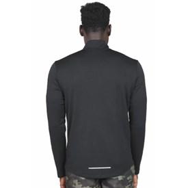 Camiseta Masculina Manga Longa Nike Pacer Preta
