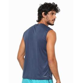 Camiseta Masculina Regata Interlock Speedo Azul Marinho