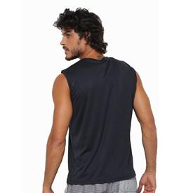 Camiseta Masculina Regata Interlock Speedo Preta